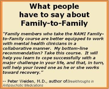 Family2Family Testimonial